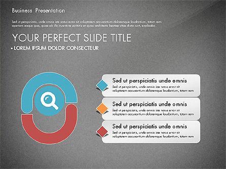 Timeline and Stages Process Diagram, Slide 12, 03261, Timelines & Calendars — PoweredTemplate.com