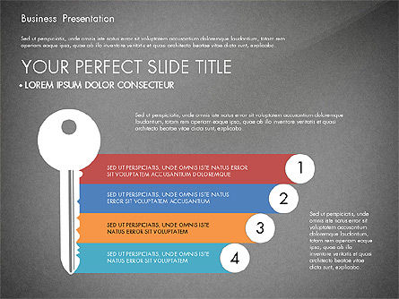Timeline and Stages Process Diagram, Slide 14, 03261, Timelines & Calendars — PoweredTemplate.com