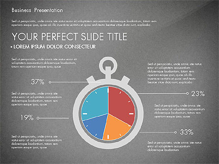 Timeline and Stages Process Diagram, Slide 15, 03261, Timelines & Calendars — PoweredTemplate.com