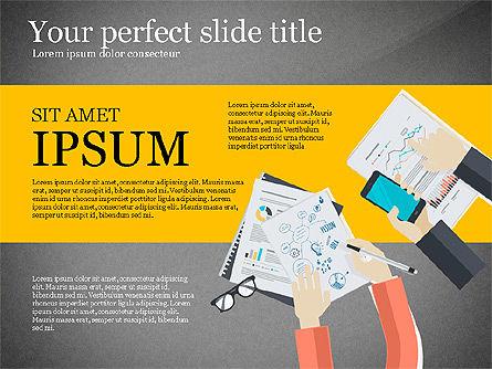 Creative Idea Presentation Template, Slide 16, 03262, Presentation Templates — PoweredTemplate.com