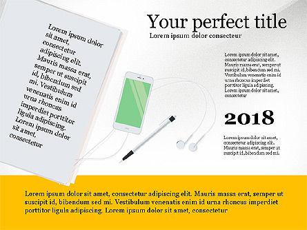 Creative Idea Presentation Template, Slide 2, 03262, Presentation Templates — PoweredTemplate.com