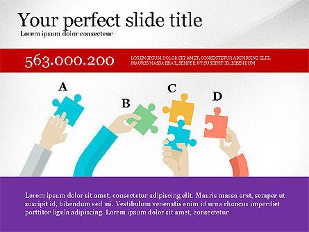 Creative Idea Presentation Template, Slide 5, 03262, Presentation Templates — PoweredTemplate.com