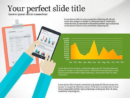 Creative Idea Presentation Template, Slide 6, 03262, Presentation Templates — PoweredTemplate.com