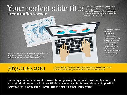 Creative Idea Presentation Template, Slide 9, 03262, Presentation Templates — PoweredTemplate.com
