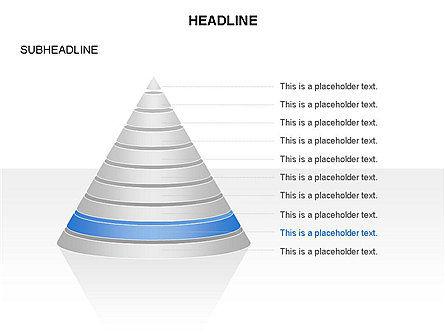 Layered Pyramid Toolbox, Slide 10, 03265, Shapes — PoweredTemplate.com