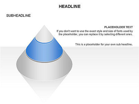 Layered Pyramid Toolbox, Slide 13, 03265, Shapes — PoweredTemplate.com