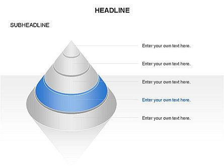 Layered Pyramid Toolbox, Slide 15, 03265, Shapes — PoweredTemplate.com