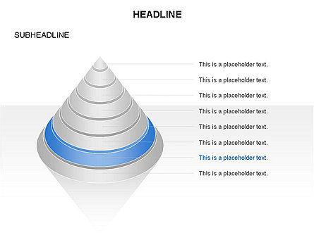 Layered Pyramid Toolbox, Slide 18, 03265, Shapes — PoweredTemplate.com