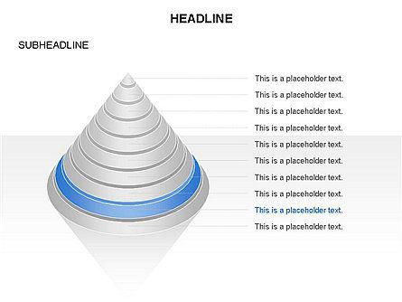 Layered Pyramid Toolbox, Slide 20, 03265, Shapes — PoweredTemplate.com