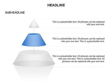 Layered Pyramid Toolbox, Slide 21, 03265, Shapes — PoweredTemplate.com