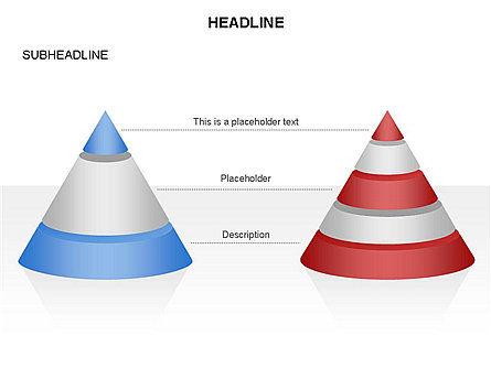 Layered Pyramid Toolbox, Slide 22, 03265, Shapes — PoweredTemplate.com