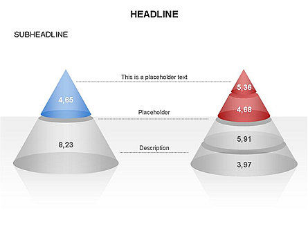 Layered Pyramid Toolbox, Slide 24, 03265, Shapes — PoweredTemplate.com