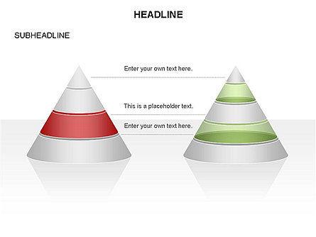 Layered Pyramid Toolbox, Slide 26, 03265, Shapes — PoweredTemplate.com