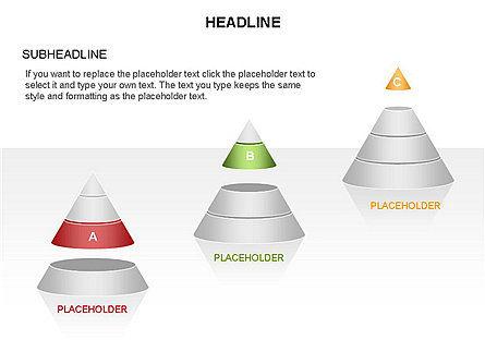 Layered Pyramid Toolbox, Slide 27, 03265, Shapes — PoweredTemplate.com