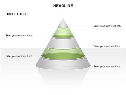 Layered Pyramid Toolbox, Slide 28, 03265, Shapes — PoweredTemplate.com