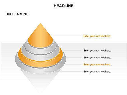 Layered Pyramid Toolbox, Slide 32, 03265, Shapes — PoweredTemplate.com