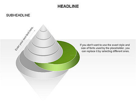 Layered Pyramid Toolbox, Slide 35, 03265, Shapes — PoweredTemplate.com