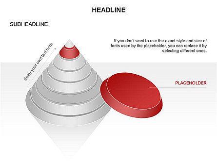 Layered Pyramid Toolbox, Slide 36, 03265, Shapes — PoweredTemplate.com