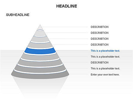 Layered Pyramid Toolbox, Slide 38, 03265, Shapes — PoweredTemplate.com