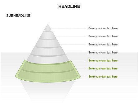 Layered Pyramid Toolbox, Slide 40, 03265, Shapes — PoweredTemplate.com