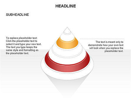 Layered Pyramid Toolbox, Slide 43, 03265, Shapes — PoweredTemplate.com