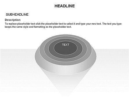 Layered Pyramid Toolbox, Slide 45, 03265, Shapes — PoweredTemplate.com