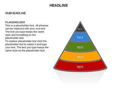 Layered Pyramid Toolbox, Slide 46, 03265, Shapes — PoweredTemplate.com