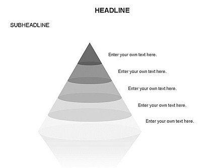 Layered Pyramid Toolbox, Slide 47, 03265, Shapes — PoweredTemplate.com