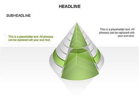 Layered Pyramid Toolbox, Slide 49, 03265, Shapes — PoweredTemplate.com