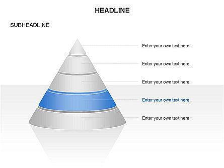 Layered Pyramid Toolbox, Slide 5, 03265, Shapes — PoweredTemplate.com