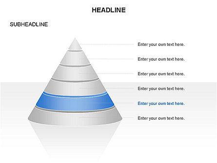 Layered Pyramid Toolbox, Slide 6, 03265, Shapes — PoweredTemplate.com
