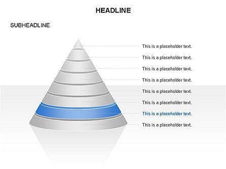 Layered Pyramid Toolbox, Slide 8, 03265, Shapes — PoweredTemplate.com