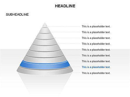 Layered Pyramid Toolbox, Slide 9, 03265, Shapes — PoweredTemplate.com