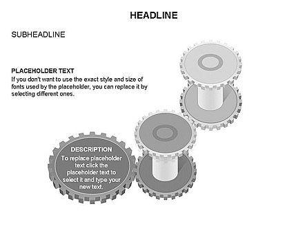 Gears Toolbox, Slide 38, 03266, Shapes — PoweredTemplate.com