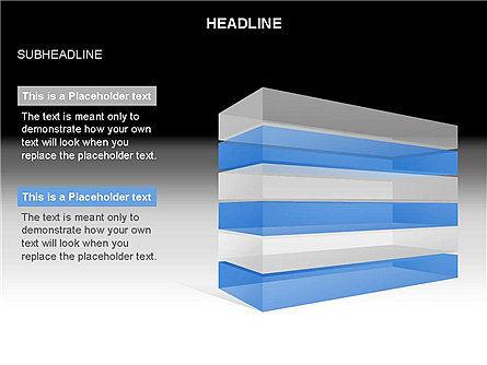 Layered Rectangle Toolbox, Slide 14, 03267, Shapes — PoweredTemplate.com