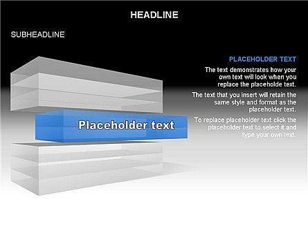 Layered Rectangle Toolbox, Slide 16, 03267, Shapes — PoweredTemplate.com