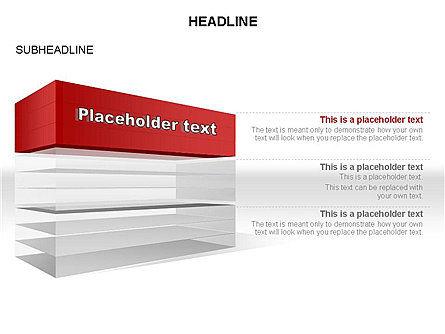 Layered Rectangle Toolbox, Slide 17, 03267, Shapes — PoweredTemplate.com