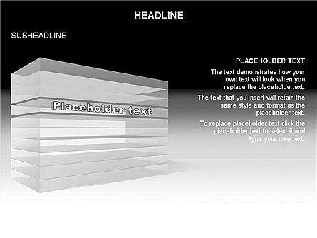 Layered Rectangle Toolbox, Slide 18, 03267, Shapes — PoweredTemplate.com