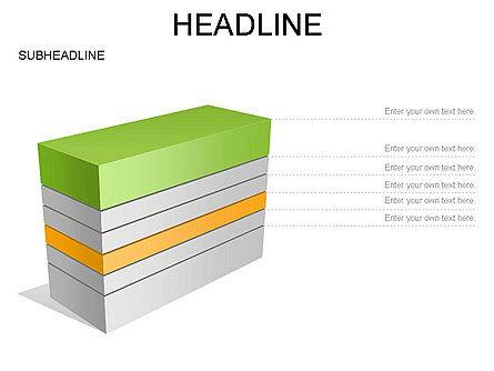 Layered Rectangle Toolbox, Slide 29, 03267, Shapes — PoweredTemplate.com