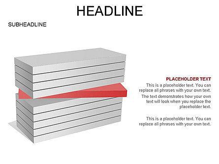 Layered Rectangle Toolbox, Slide 31, 03267, Shapes — PoweredTemplate.com