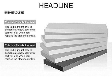 Layered Rectangle Toolbox, Slide 40, 03267, Shapes — PoweredTemplate.com