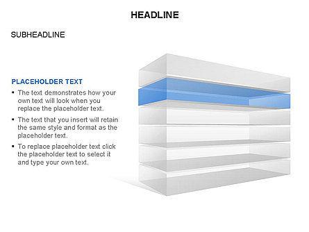Layered Rectangle Toolbox, Slide 6, 03267, Shapes — PoweredTemplate.com