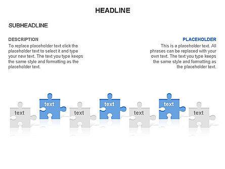 Puzzle Pieces Toolbox, Slide 16, 03268, Puzzle Diagrams — PoweredTemplate.com