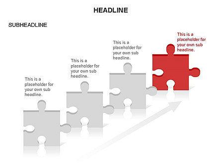 Puzzle Pieces Toolbox, Slide 20, 03268, Puzzle Diagrams — PoweredTemplate.com