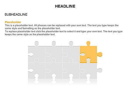 Puzzle Pieces Toolbox, Slide 25, 03268, Puzzle Diagrams — PoweredTemplate.com