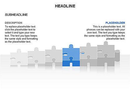 Puzzle Pieces Toolbox, Slide 29, 03268, Puzzle Diagrams — PoweredTemplate.com