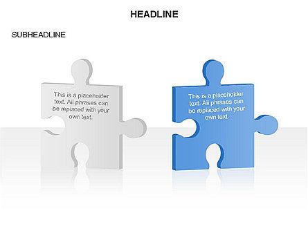 Puzzle Pieces Toolbox, Slide 31, 03268, Puzzle Diagrams — PoweredTemplate.com