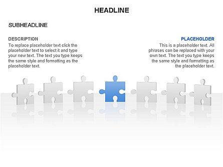Puzzle Pieces Toolbox, Slide 32, 03268, Puzzle Diagrams — PoweredTemplate.com
