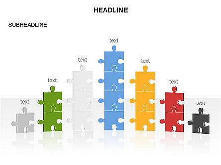Puzzle Pieces Toolbox, Slide 33, 03268, Puzzle Diagrams — PoweredTemplate.com