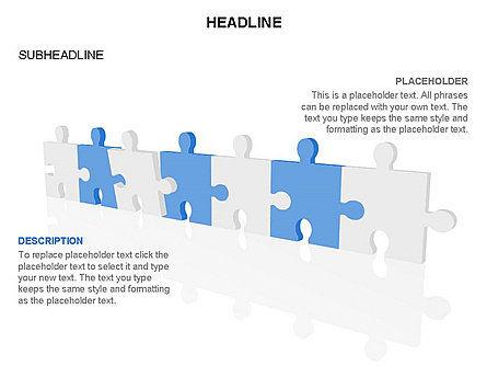 Puzzle Pieces Toolbox, Slide 39, 03268, Puzzle Diagrams — PoweredTemplate.com